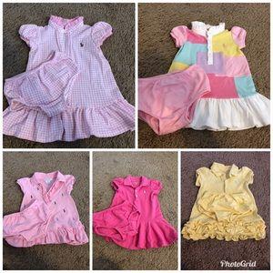 Ralph Lauren size 9 months dresses (Bundle Deal)